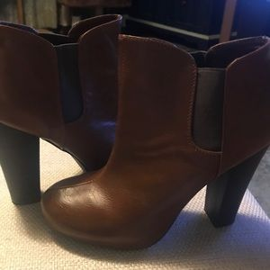 MADDEN GIRL LEATHER BOOTIES